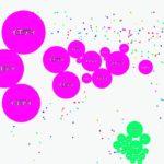 細胞捕食ゲームPodGar.ioを一日中やってたら結構稼げた
